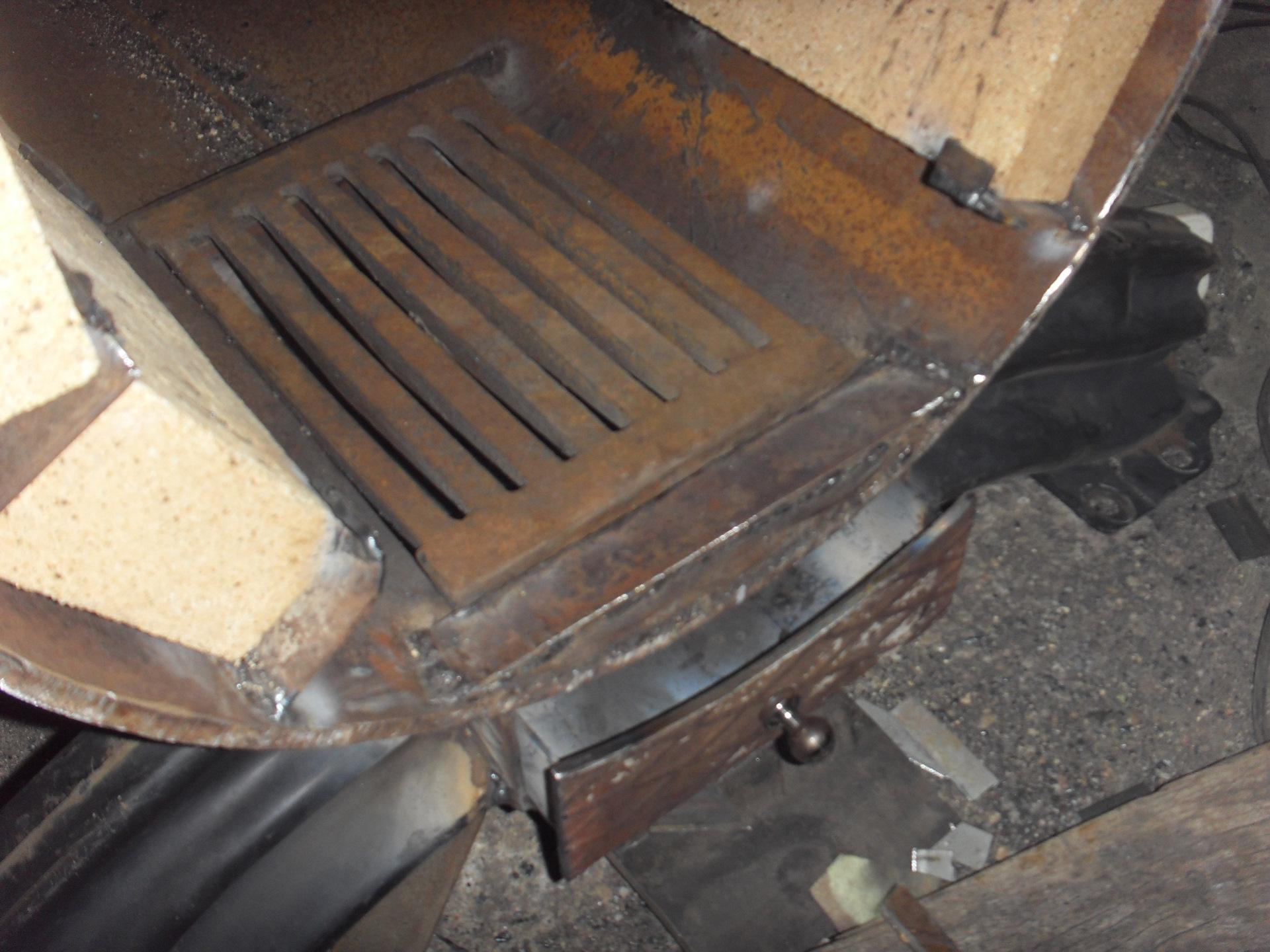 Печь в гараж на угле своими руками 347