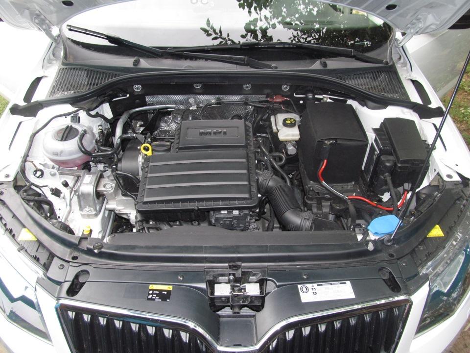 двигатель 1.6 mpi skoda