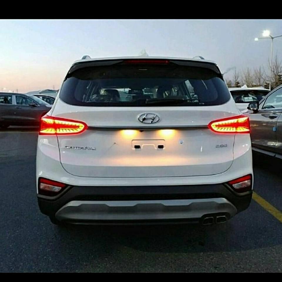 2019 Hyundai Santa Fe First Official Images