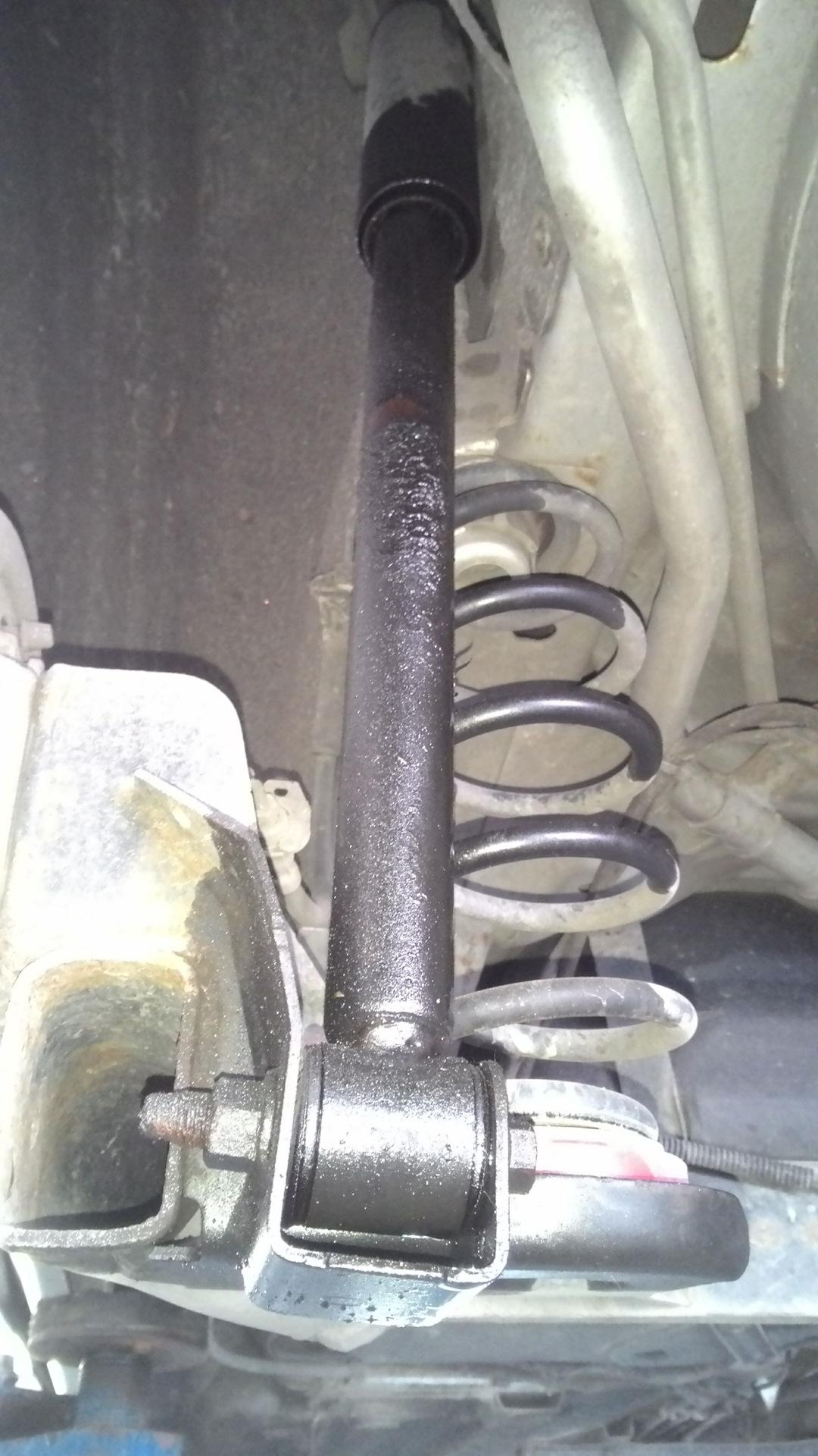 размеры оригинальных задних амортизаторов на ford fusion