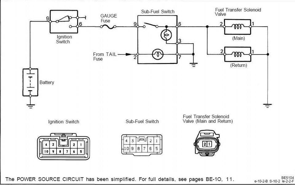Схема для подключения клапанов