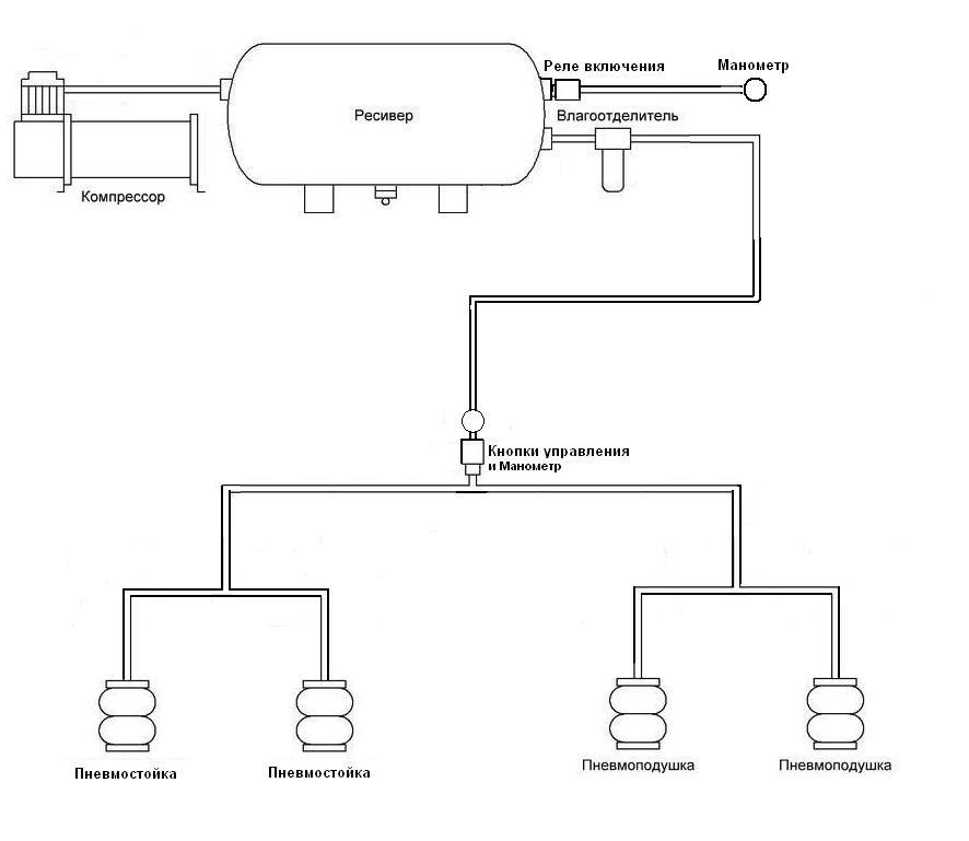 Схема пневмы