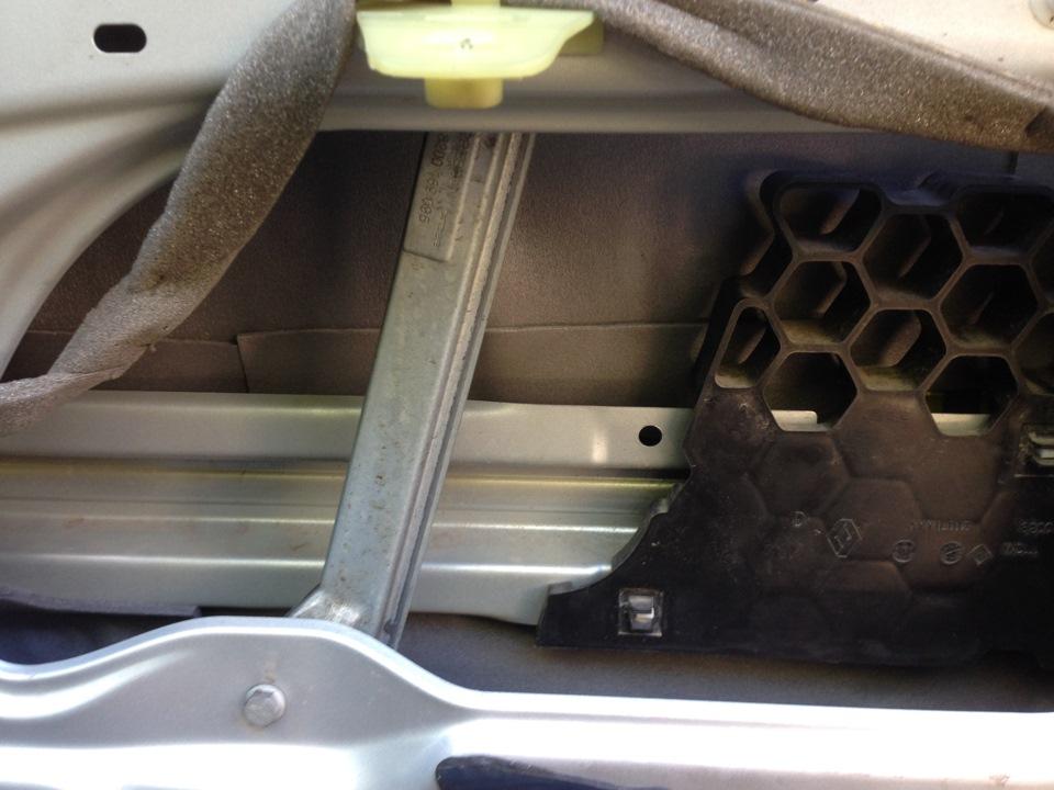 renault symbol зашумить багажник