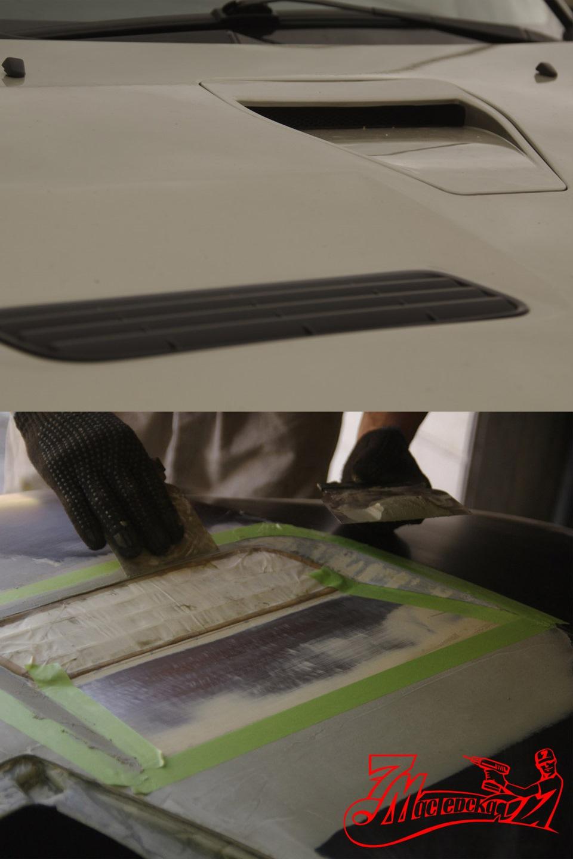Как сделать воздухозаборник своими руками
