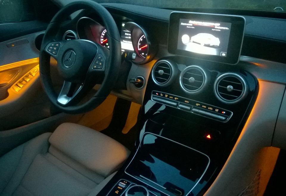 Ambient Lighting Mercedes Benz C Class 2014 Drive2