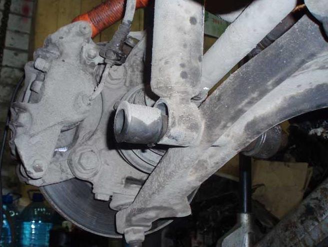 сайлентблок фольксваген т4 на передний амортизатор