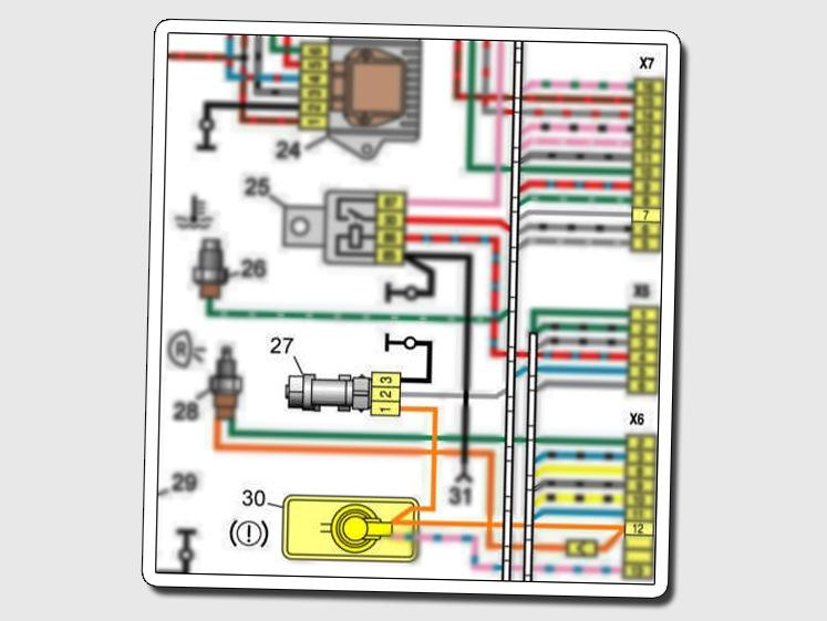провода датчика скорости volvo 740