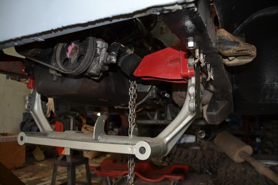 Установка на ниву дизельного двигателя