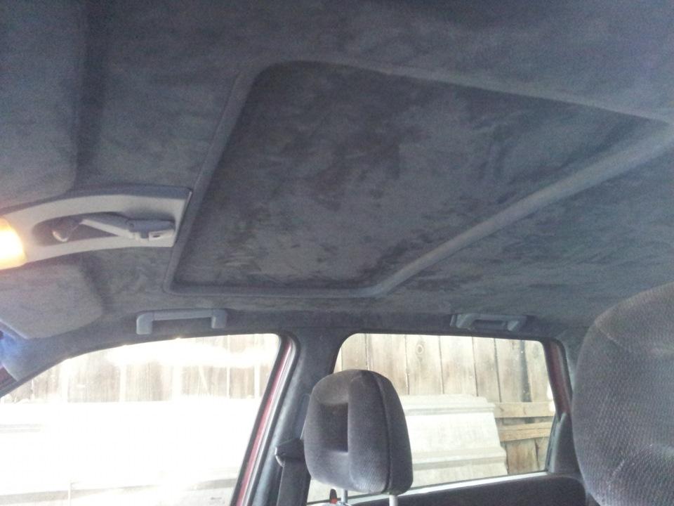 Как перетянуть крышу автомобиля своими руками