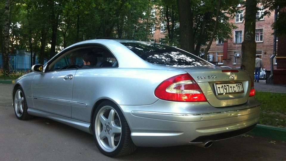 Object moved for Mercedes benz clk 500