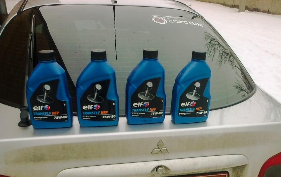 какое масло лить в кпп митсубиси каризма