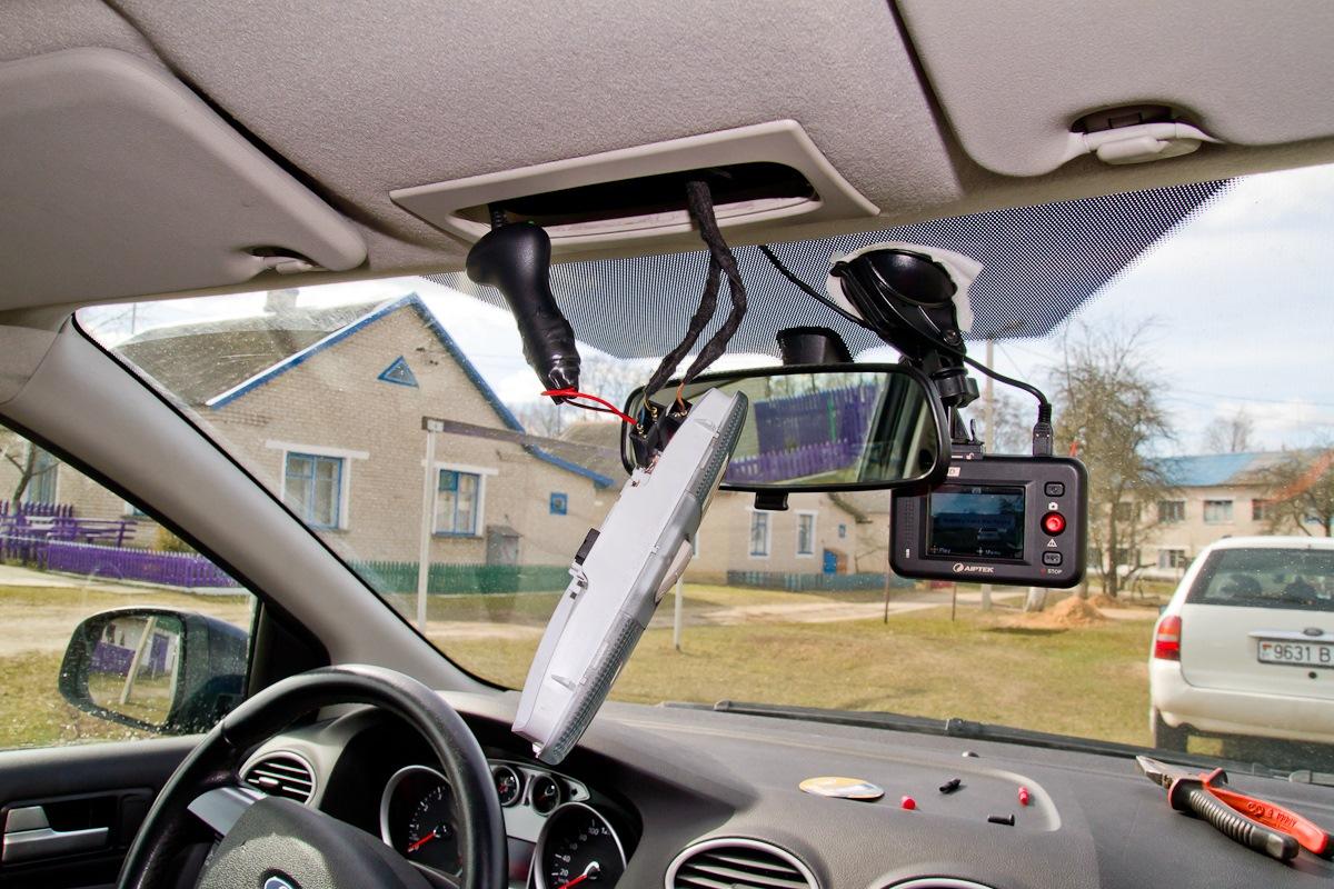 Как правильно установить регистратор в авто автомобильные видеорегистраторы на торпедо