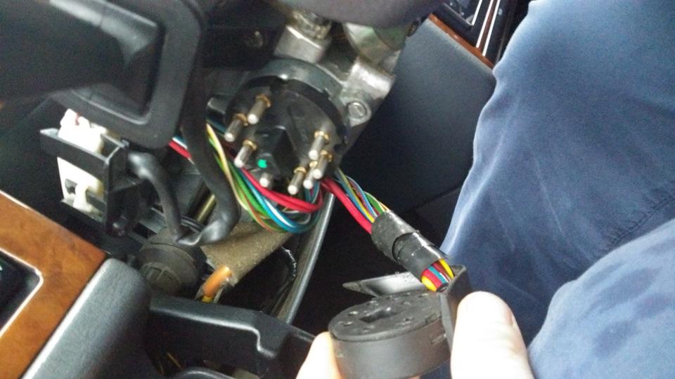 Контактная группа замка зажигания. - бортжурнал Volvo 850 Т5 ТурбокорчЪ 1995 года на DRIVE2