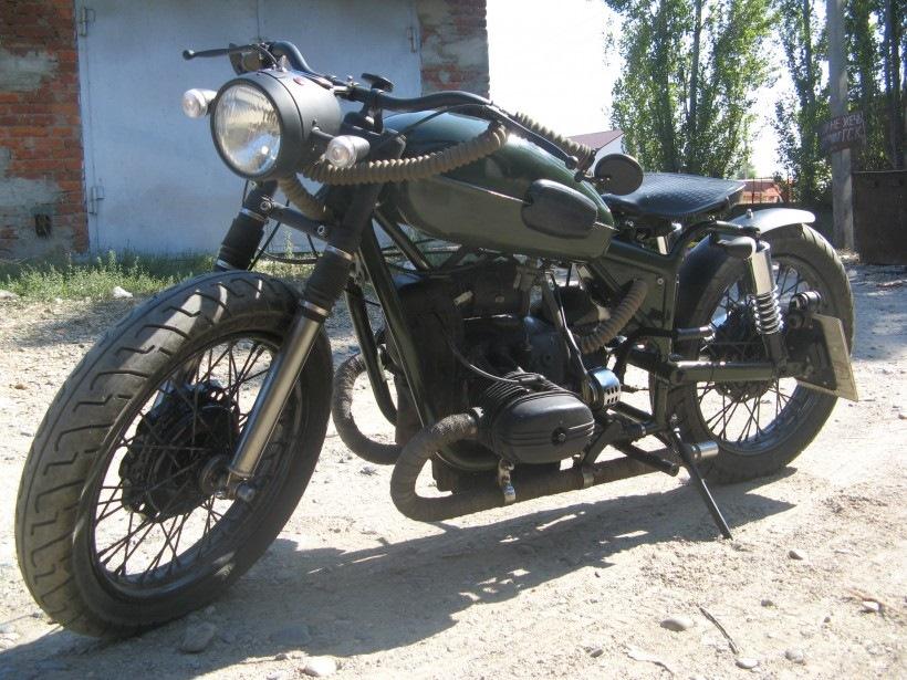 Моя первая переделка мотоцикла Урал   OPPOZIT.RU ...