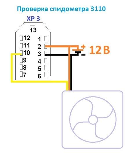 Ремонт спидометра газ 3110 своими руками