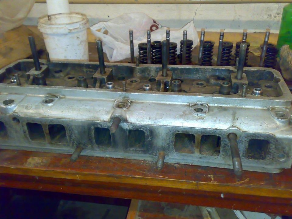 Ремонт головки блока цилиндров уаз 469