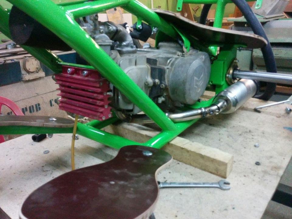 Как сделать мотор скутера