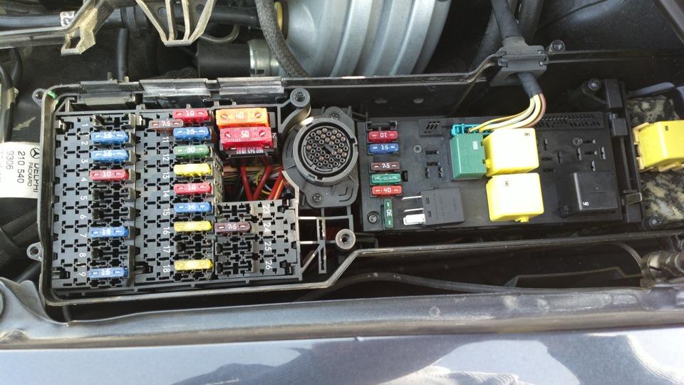 Аккумуляторная батарея mercedes w210