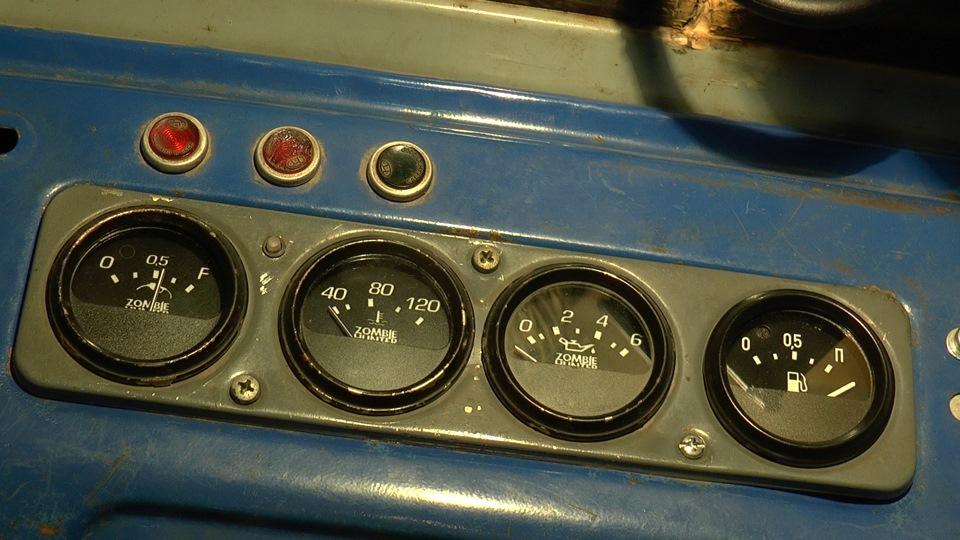 Датчик уровня топлива от Газона на УАЗ 469
