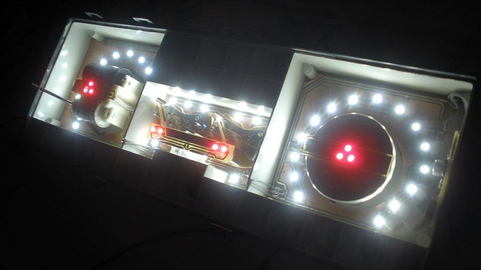 Панель приборов ваз 2107 подсветка своими руками