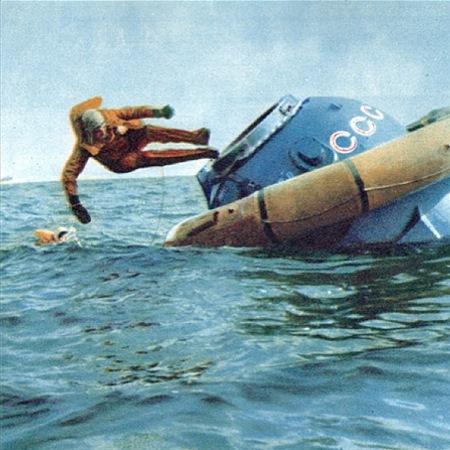 Тренировка на приводнение,  1984 год