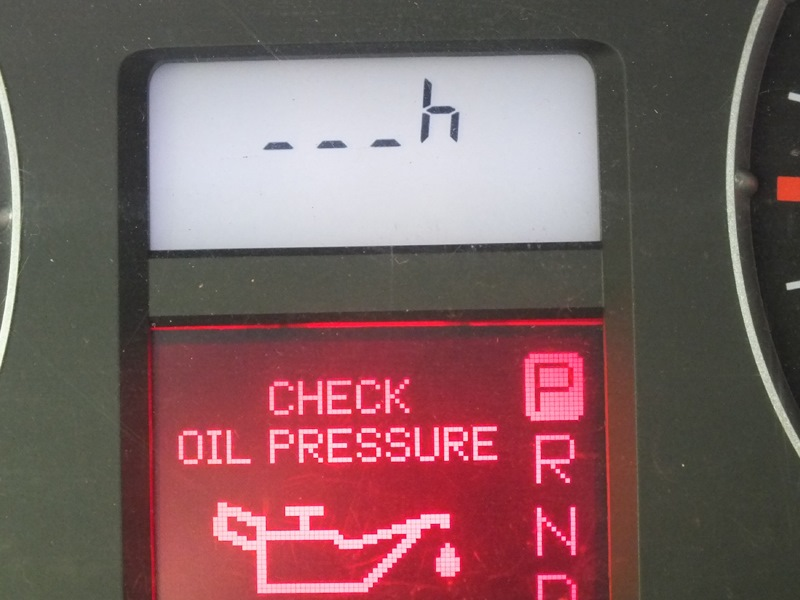 установка датчика уровня масла renault laguna1n7q