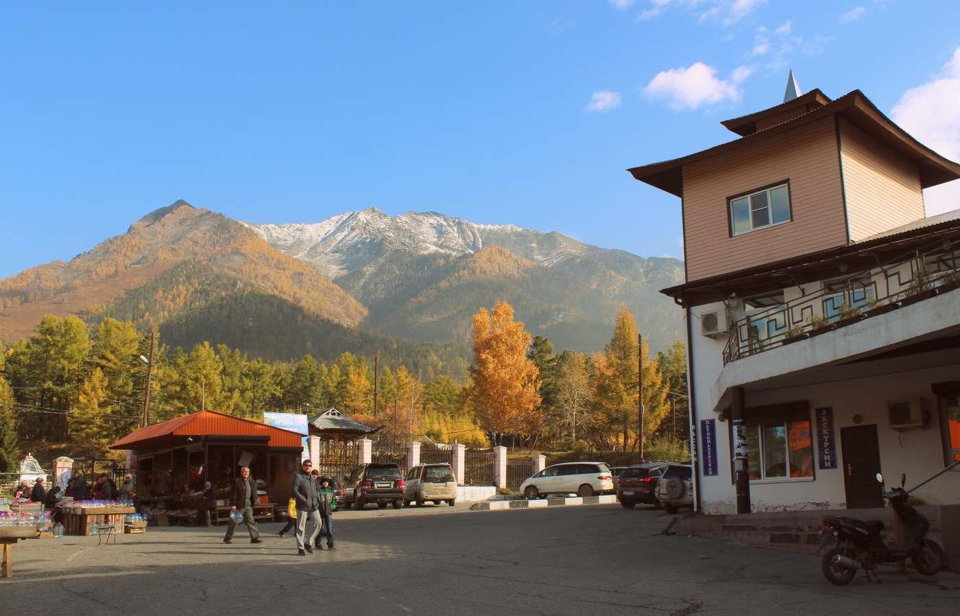 Фото деревня аршан
