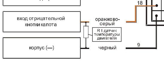 Старлайн а91 датчик температуры двигателя схема 12