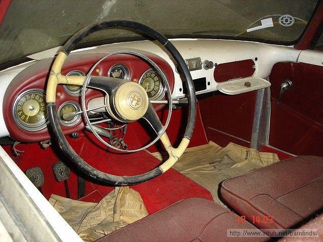 Interior of Alfa Romeo:
