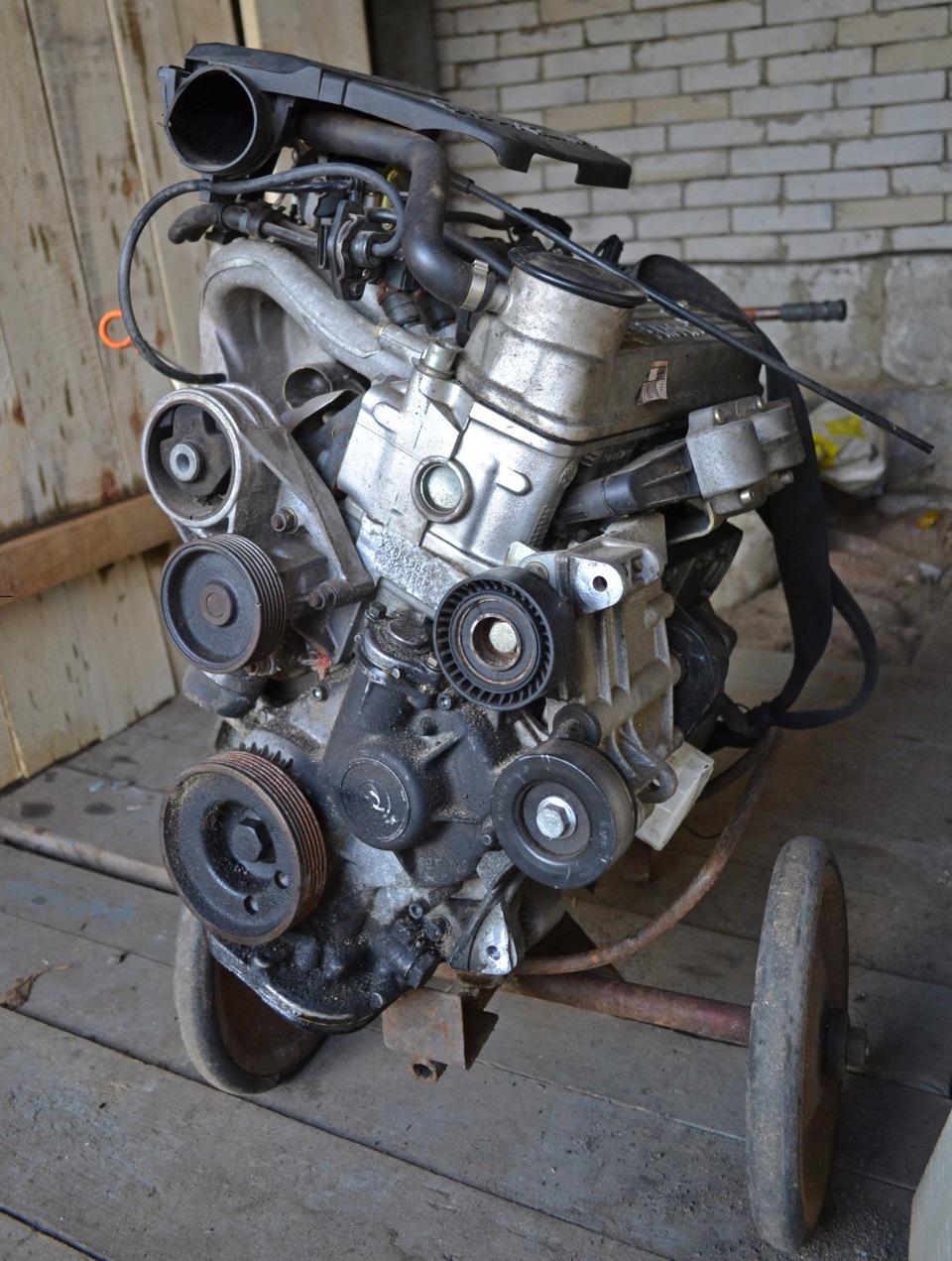 Ремонт двигателя шкода фабия 1.4