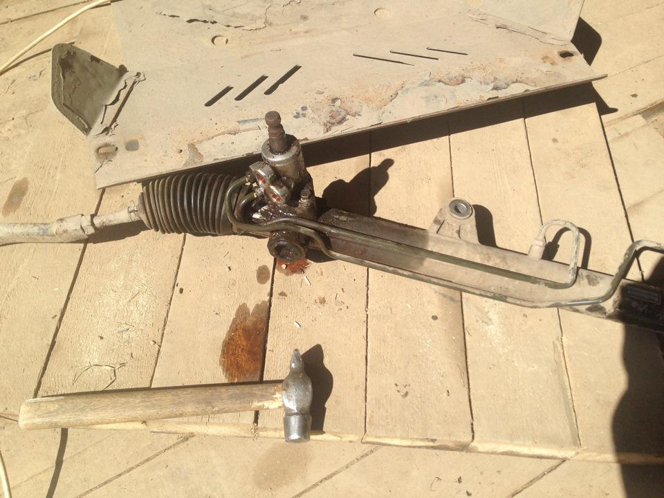 Кайрон ремонт рулевой рейки