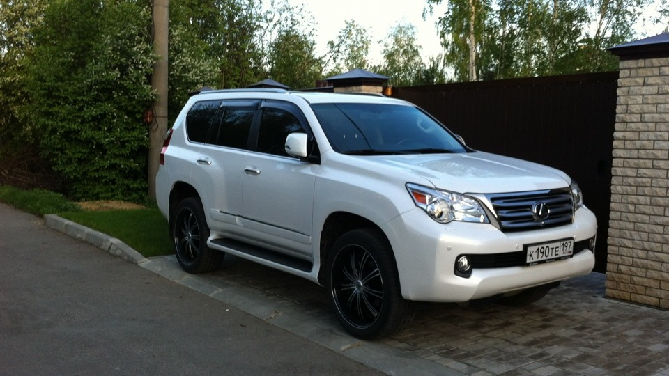 lexus gx 460 white. Black Bedroom Furniture Sets. Home Design Ideas