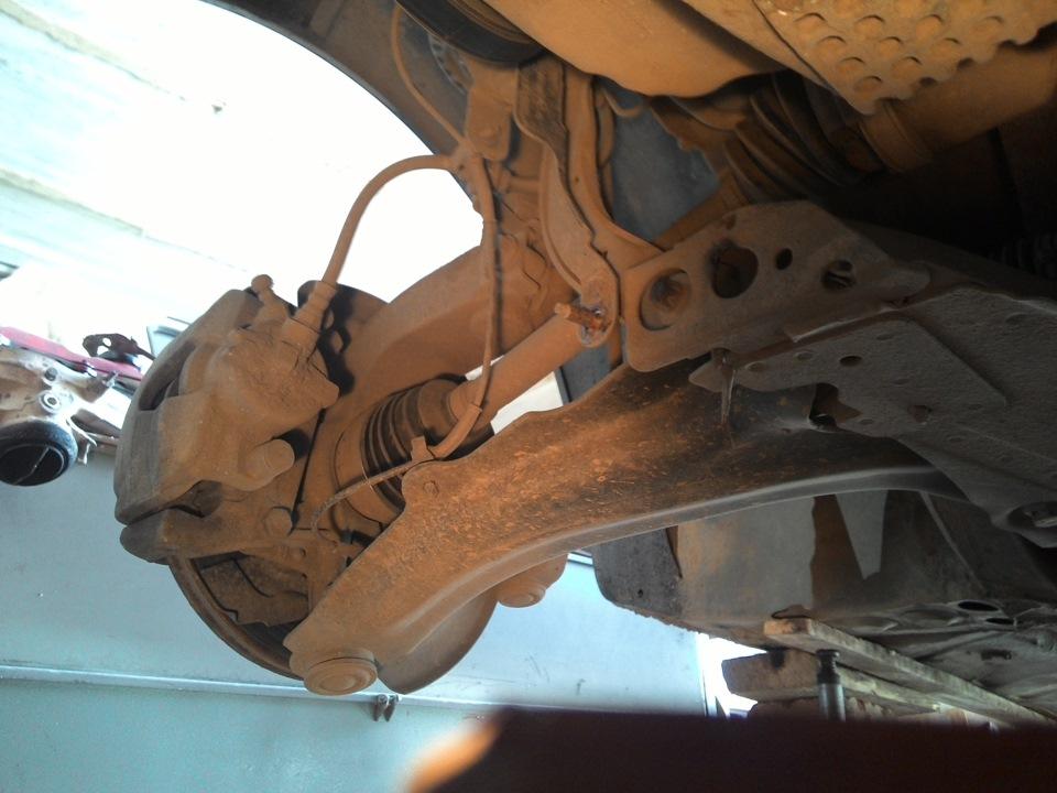 Рено меган 2 ремонт передней подвески