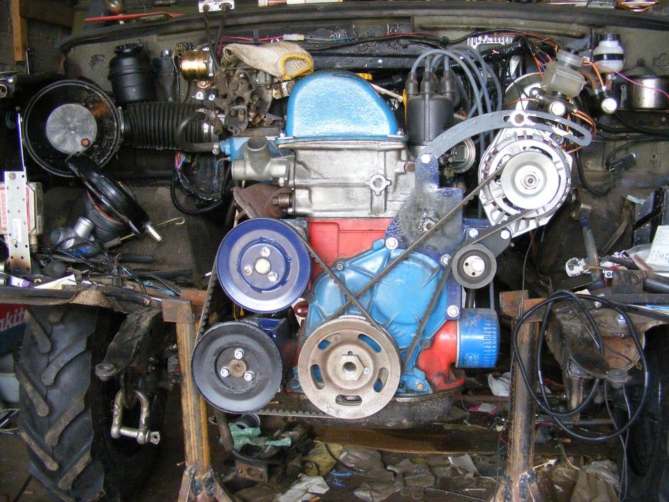 Сборка двигателя ваз 2101