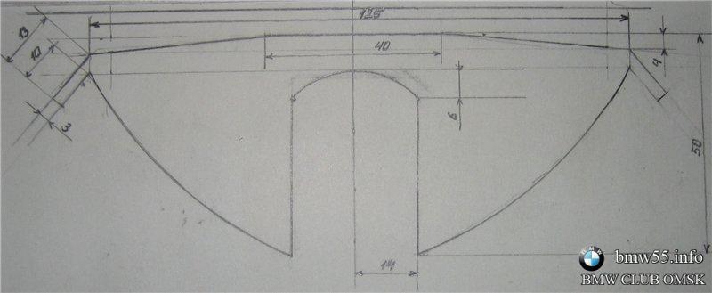 Точные размеры кузова e34 2jpg