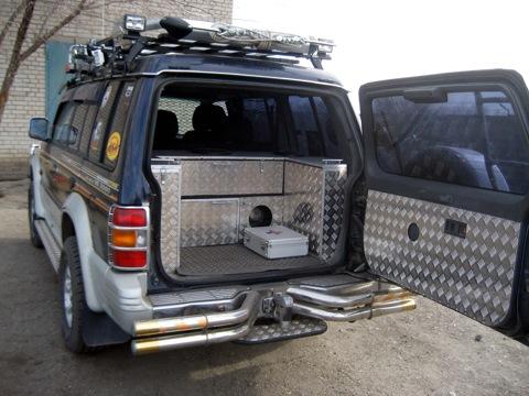 Багажник паджеро 2