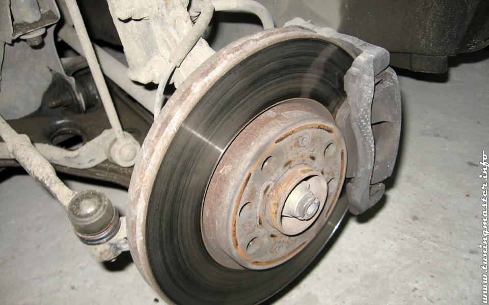 Инструкция по замене тормозного диска