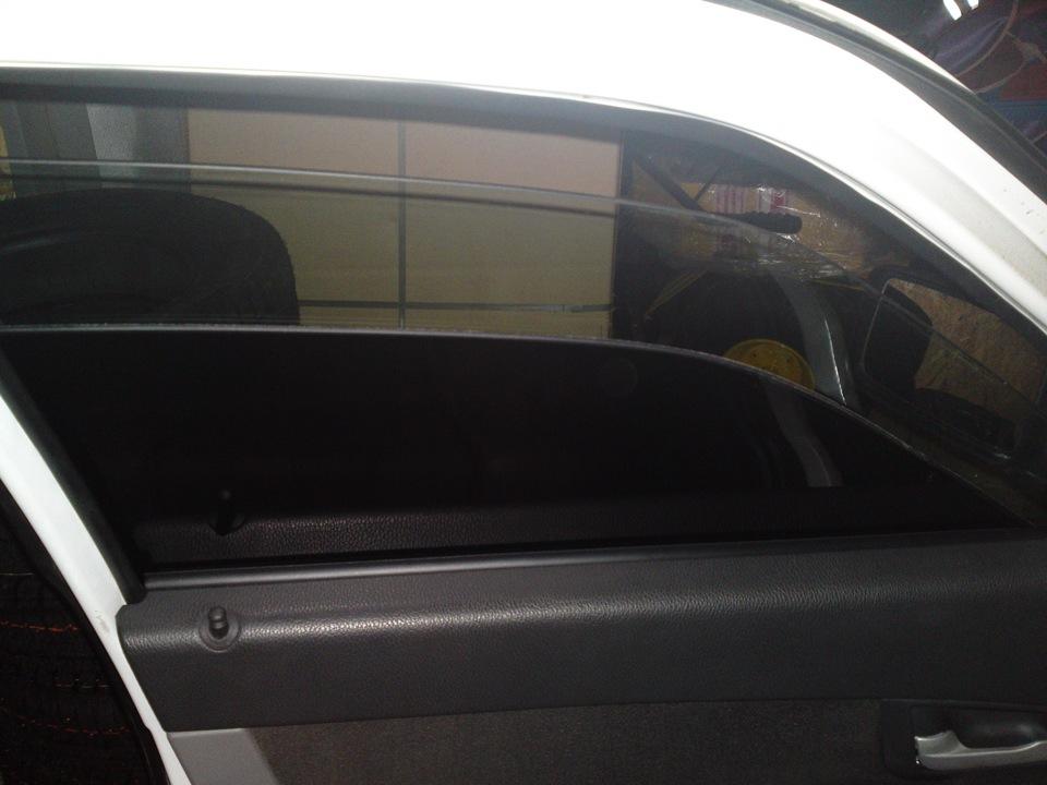 Двойное стекло на авто своими руками