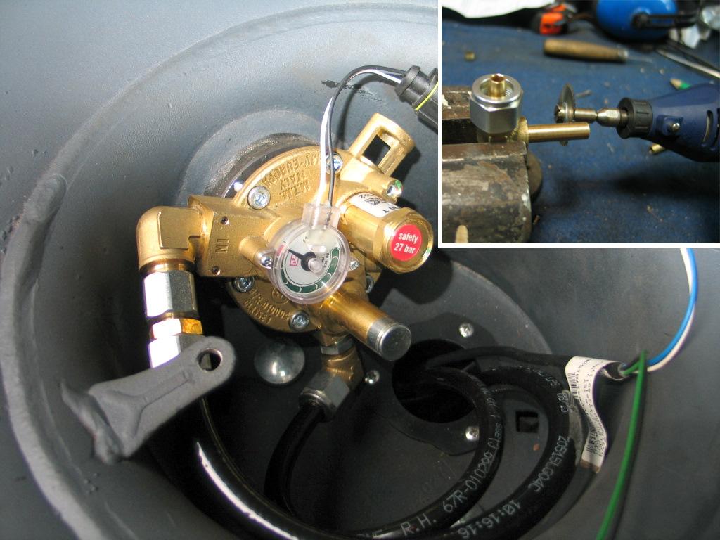 Ремонт газового клапана своими руками 29