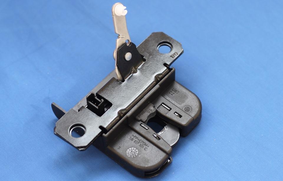 Новый механизм замка багажника