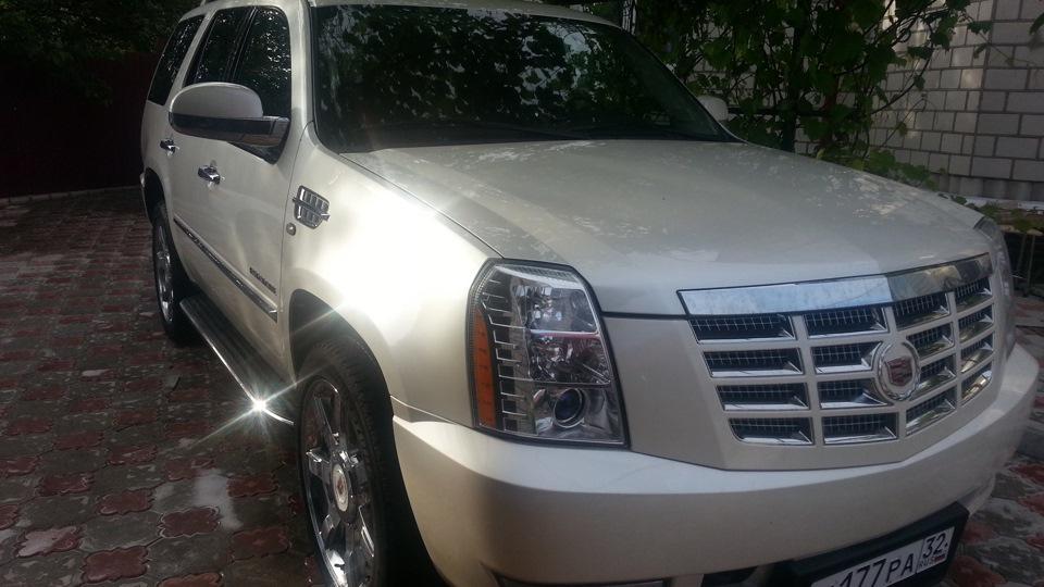 Тест-драйв Cadillac Escalade — первые впечатления