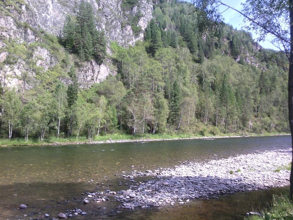 Рыбалка на реке ходзь