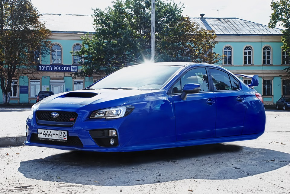 Subaru Back To The Future Logbook Wrx Sti Blue Methamphetamine 2017 On Drive2