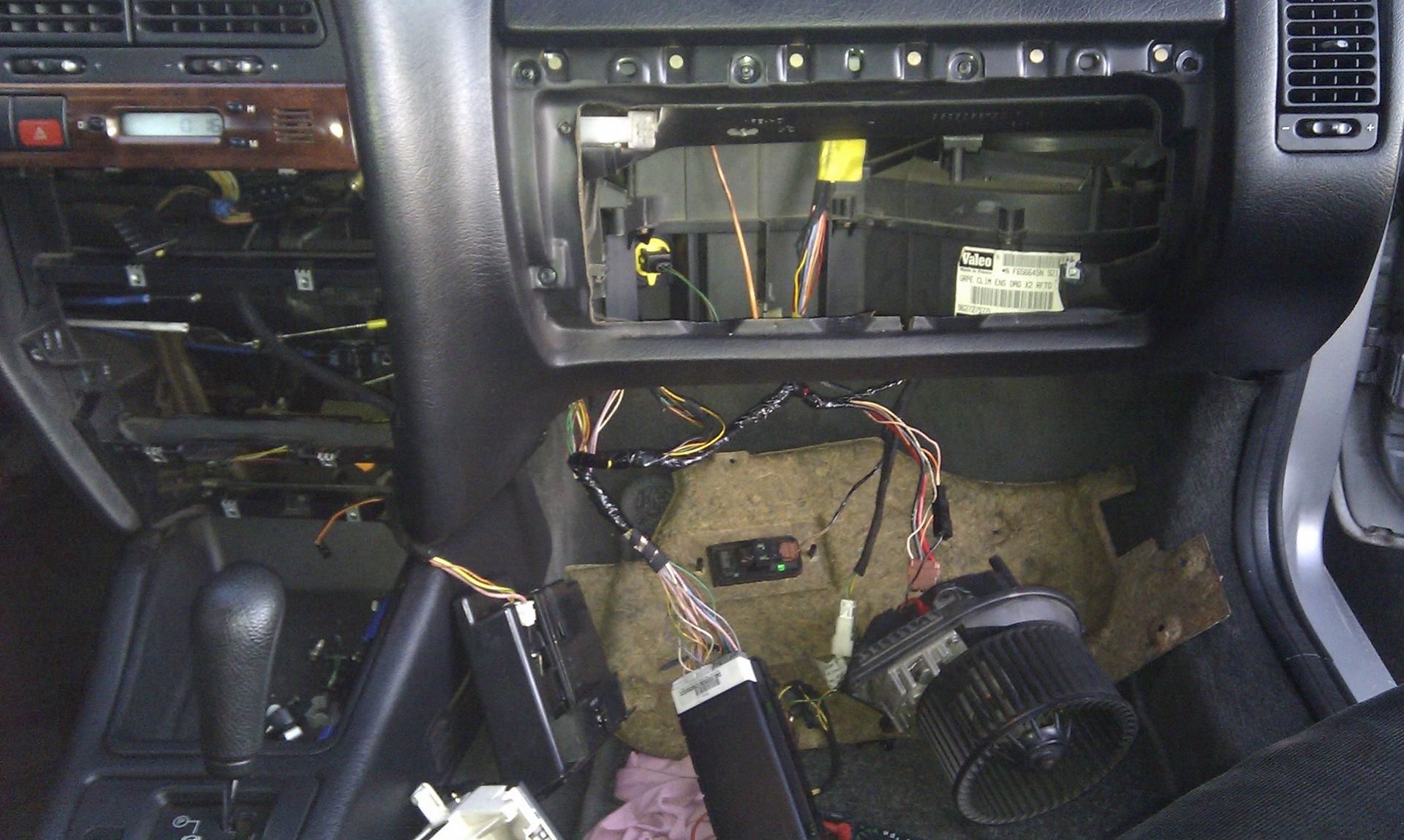 ремонт вентилятора в салоне ситроен