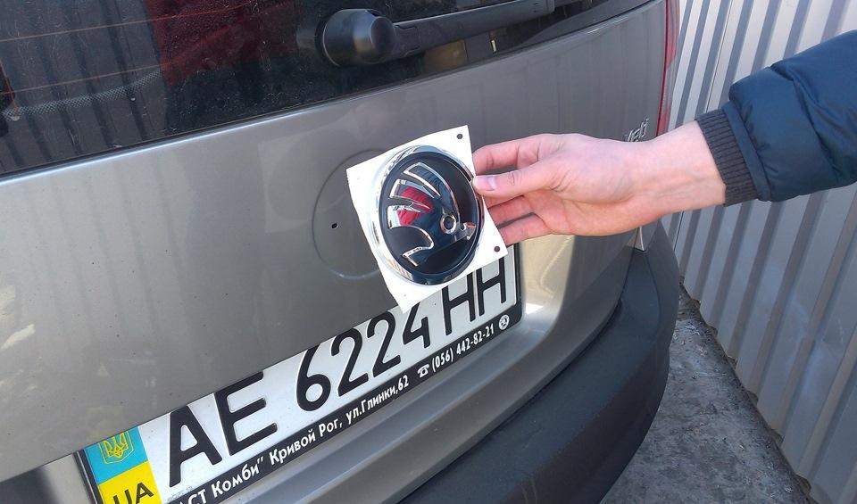 Как сделать знак на авто 432