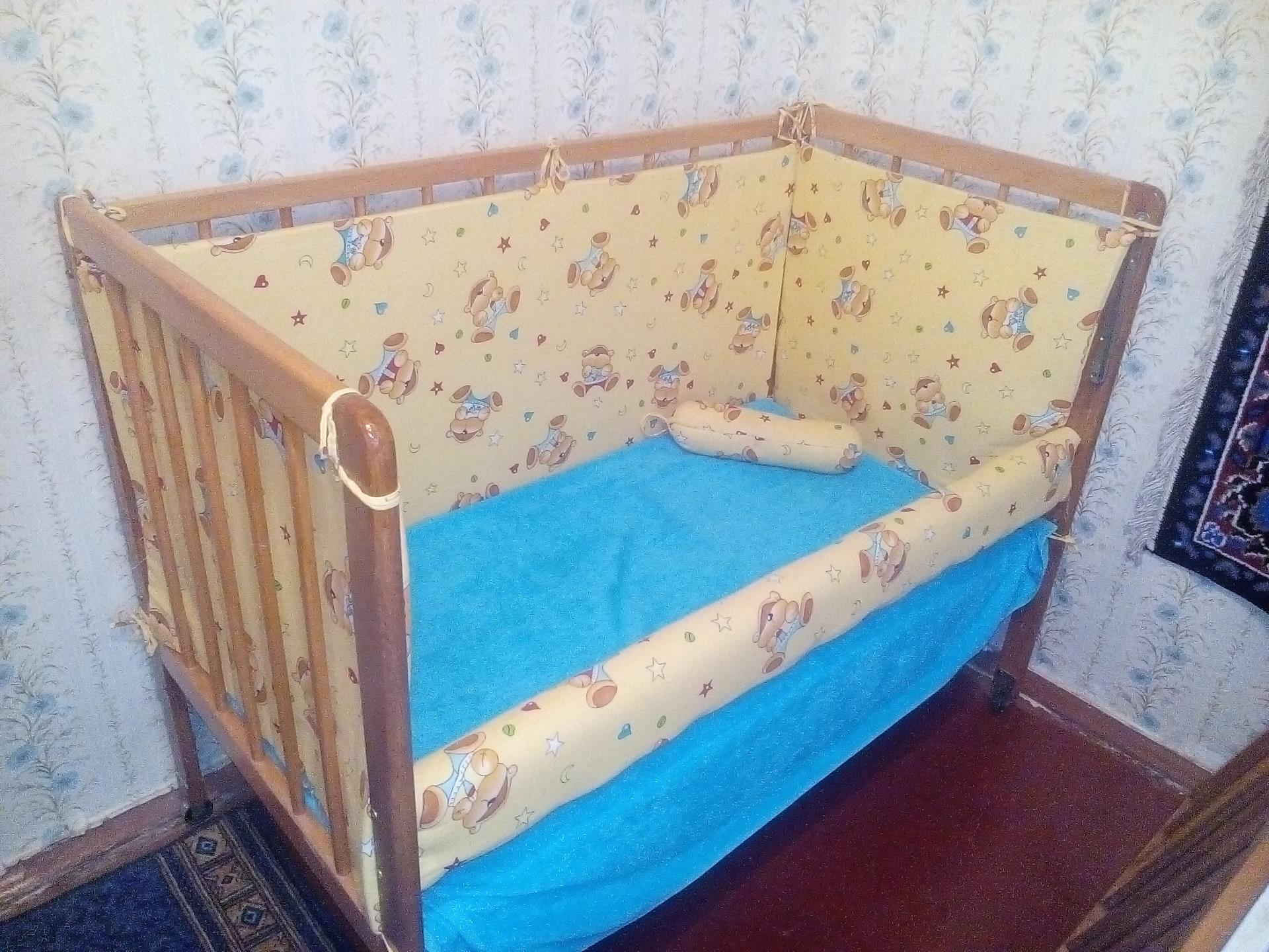 Фото детской кроватки своими руками фото