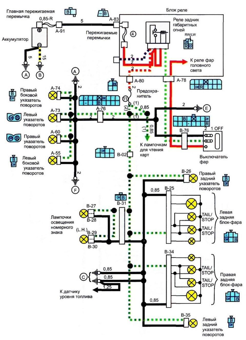 Электрическая схема ниссан ноут фото 357