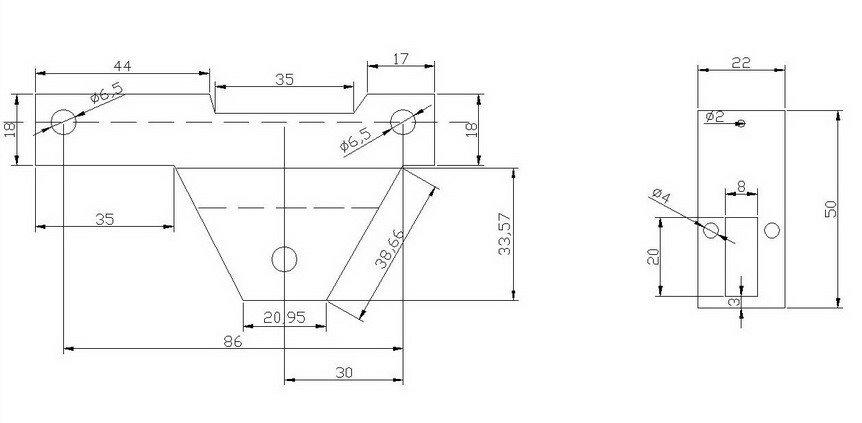 Как сделать подлокотник на ваз 2109  чертежи по размерам