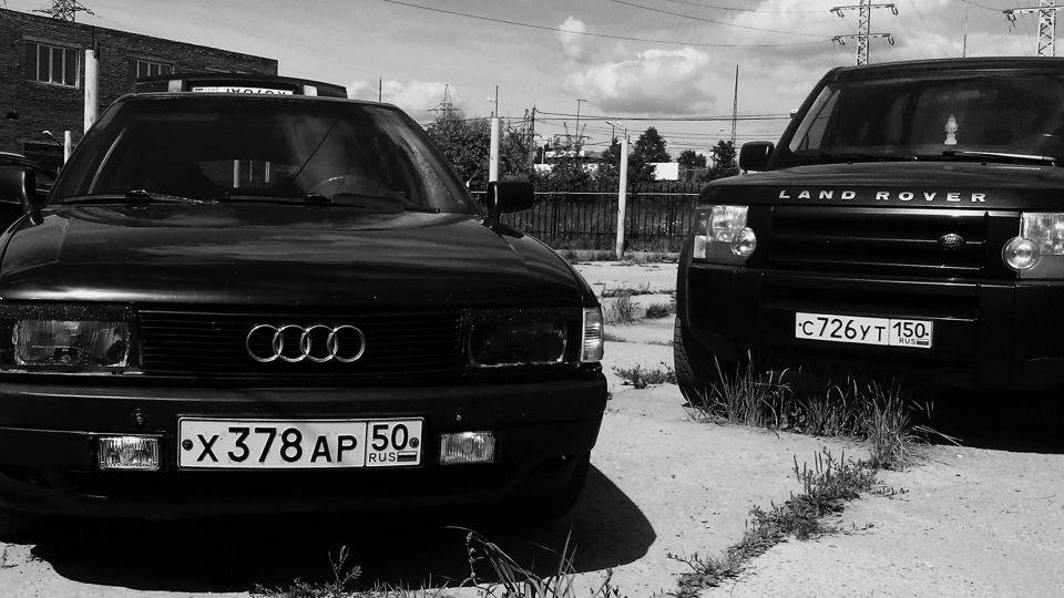 черная ауди 80 фото
