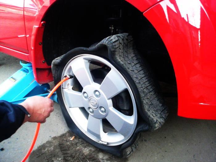 Как сделать шина в диски 244